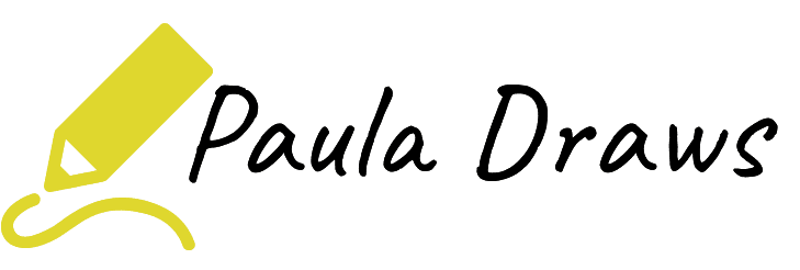 Paula Draws logo