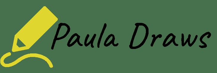 Paula Draws logo